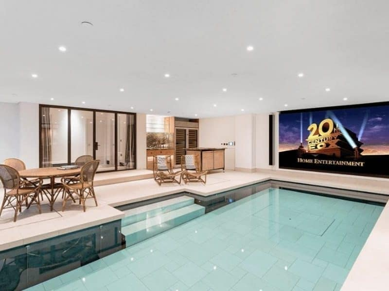 LED TV IN SWIMMING POOL
