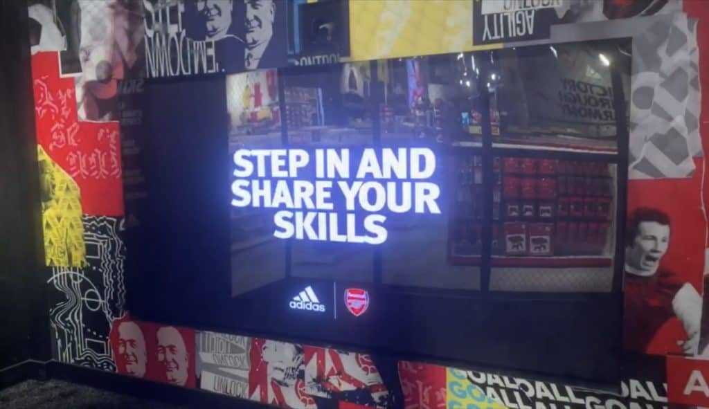 Augmented reality led screen